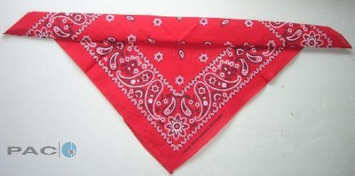 Hundehalsband Tuch rot